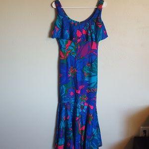 Vintage 60s Sun Fashions of Hawaii mermaid…